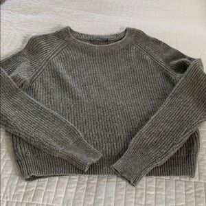 Lightweight grey Brandy Melville sweater